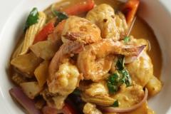 Curry Chicken & Shrimp Thailand Style