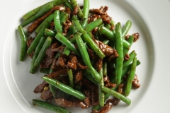 Gallic Beef with String Beans