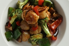 Scallops & Shrimp Hunan Style