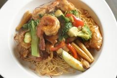 Crispy Pan Pan Noodle shrimp chicken 1395